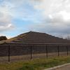 土塔町公園で『大野寺土塔』っていう土製の塔の復元をみてきた!みためは瓦びっしりのピラミッドみたいな感じ【大阪府堺市中区】