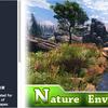 Nature Environment 「草や樹木、地面テクスチャ」自然いっぱいのTerrainに使える3Dモデルパック