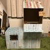【暮らし】完成!おむつの空き箱でダンボールハウスを手作りしてみた②
