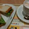 ドトールコーヒーショップ「朝カフェ・セット Bセット(たらもサラダ)」