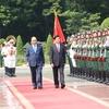 トンルン・シースリット首相:グエン・スアン・フック・ベトナム首相を公式訪問