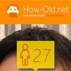 今日の顔年齢測定 48日目