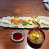 🚩外食日記(99)    宮崎ランチ  「鮨と魚肴  ゆう心」⑥より、【輝き(6品)】‼️