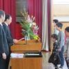 表彰式・修了式(3月22日)