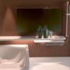 【Blender #7】バスルームをモデリングしてみた