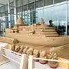 【金沢】海の玄関口「金沢港クルーズターミナル」にできたサンドアート(砂像)のクオリティがすごい!