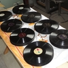SPレコード盤の分類・保管作業