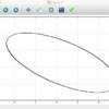 1/7がつくる楕円をJulia言語でプロットする