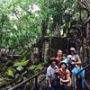日本人ご家族旅とプラベットタクシーアートとベンメリア遺跡観光