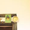 【古物インテリア】「おじさんと ねこ」なブロンズゴールドな雑貨
