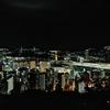 ホテル長崎からの夜景と皇上皇で長崎ちゃんぽん