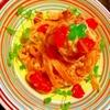 トマトのフェットチーネde酒粕カルボナーラ