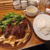 神田【東京ブッチャーズ】肉屋のステーキプレート ¥950