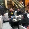 YAMI大学深呼吸学部の学生たちのリアル交流会を愉しみました。