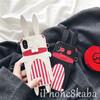 オリジナル ラビット iphonX ケース 立体 ウサギ ブランド iphone8 カバー ポップで萌える 革 女の子
