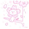 本日のらくがき 桜