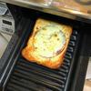 【リンナイ ガスビルトインコンロ グリルプレートでトーストが自動で便利】