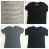今夏のトップスはMUJIのTシャツばかり5枚。
