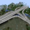 【Minecraft】インターチェンジを作る【コンパクトな街を作るよ18】