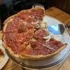 【アメリカ】10日目-1 トランジットのシカゴでシカゴピザ。なにこのサイズ~!!!