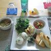 新鮮なお野菜と心のこもったお昼