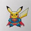 スーパーマン×イケメンピカ様。 Superman × Cool Pikachu.