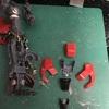 【RG  シナンジュ ガンプラ製作記 <8>】外装のプチディテールアップと足の組み立て