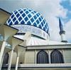 マレーシアのブルーモスクには無料で日本語ガイドがついている!イスラム教の文化に触れよう!