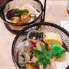 ランチ日記 #106 銀座あさみの鯛茶漬け付きの籠弁当