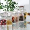 塩、砂糖、アーモンド、コーヒー豆など湿気を防ぐ フレッシュロック 角型 1.4L 保存容器がおすすめ