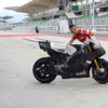 ★MotoGP2017 Ducatiフロントホイールカバーをテスト