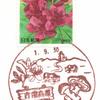 【風景印】賀陽郵便局(2019.9.30押印、図案変更前・終日印)