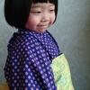 着物用の反物から作る、簡単子供の半幅帯☆和裁の知識