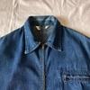 1056 発掘!! 40's スペシャル ビンテージ デニムジップアップジャケット vintage denim jacket