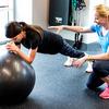 体幹が身体の他の部位における運動能力を高める(股関節周辺の筋力が十分ではない選手でも、体幹の筋群が股関節の機能を補助し、その課題を行うことが明らかにされた)