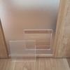 引き戸にキャットドアを作成【アクリル部分を切断】