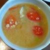納豆トマト味噌汁
