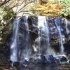 周囲が林に囲まれた美しい滝、達沢不動滝(福島県、猪苗代町)