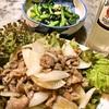 玉葱と豚肉炒め