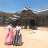 韓服を着て景福宮に行ってきました。トッケビの撮影地も。