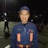 「町田市女性消防団の操法訓練」