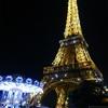 シャンパンフラッシュ!エッフェル塔!パリ ハネムーン旅行記♪2014♪