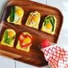 ドテマヨトースト☆ミニ♪うずら卵と焼き野菜*おまけ耳スケ通信