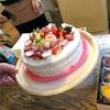 手作りの『クリスマスケーキ』
