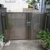 アルミ製門扉のメンテナンス