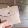 パステルピンクが素敵な、イルビゾンテのお財布を使い始めました