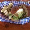 ペルーのサングチェ(サンドイッチ)at Cafe Rumba in Bellihgham, WA