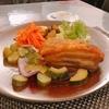 殿堂入りのお皿たち その275【レストランぷーれさん の 豚のコンフィ】