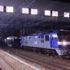 第1555列車 「 特1 シキ801形(B2梁)の特大貨物輸送を狙う 」