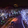 東京ミッドタウンのイルミネーションとその周辺のパーティー感を撮影してきた(東京六本木 夜景)